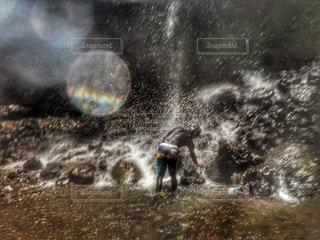 滝の写真・画像素材[1448100]