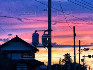 ある日の空の写真・画像素材[1452155]