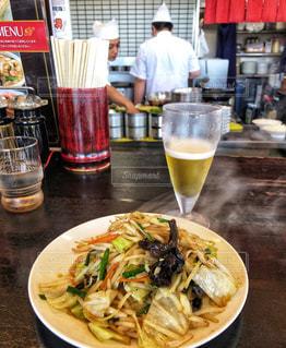ビール,シンプル,店内,中華料理,野菜炒め,食欲の秋