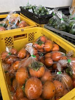 柿の実の写真・画像素材[1463401]