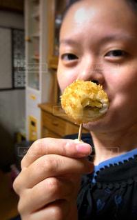 食べかけの写真・画像素材[1489575]