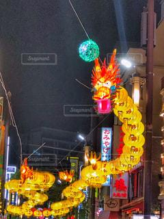 横浜の灯の写真・画像素材[1538203]
