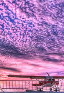 雲,夕焼け,飛行機,大空,夢,ポジティブ,願い,希望