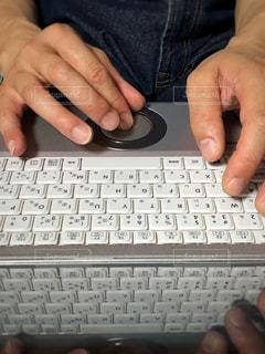パソコン,画面,キーボード,両手,ホワイトカラー,インプット