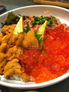 ベストショット海鮮丼の写真・画像素材[1685162]