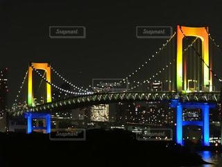 夜のライトアップの写真・画像素材[1685332]
