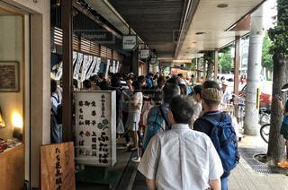 男性,和菓子,旅行,行列,並ぶ,人気店