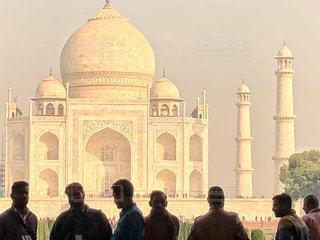男性,観光地,世界遺産,シルエット,旅行,インド,複数,北インド