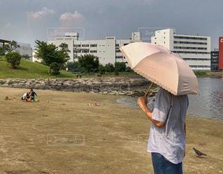 男性,夏,東京,ジーンズ,海岸,旅行,日傘,デニム,猛暑,平成,東京の夏,日傘男子,平成最後
