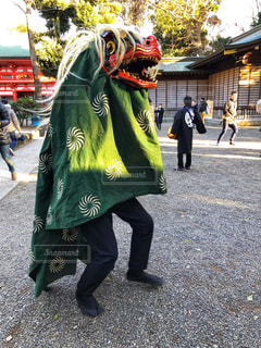 神社にての写真・画像素材[1728579]
