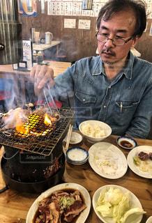 焼肉男子の写真・画像素材[1757901]