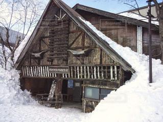 積雪の写真・画像素材[1782871]