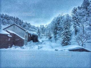 雪山の写真・画像素材[1817102]