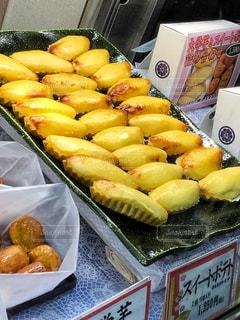 黄色,旅行,お菓子,甘い,ショーケース,フォトジェニック,さつま芋,スウィートポテト,多色,芋菓子