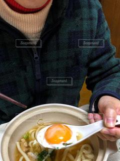 うどんを食べるの写真・画像素材[1851705]