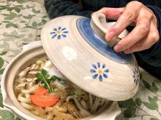 土鍋で温まるの写真・画像素材[1853354]