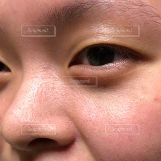 鼻,目,すっぴん,肌