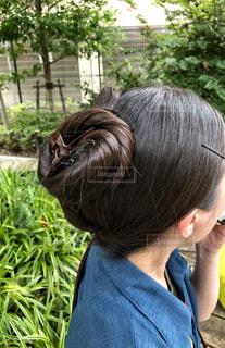 ツヤ髪の写真・画像素材[2460399]
