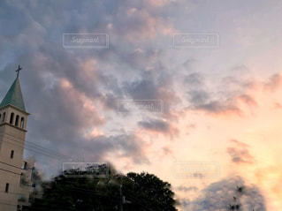 夕暮れの写真・画像素材[2480572]
