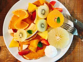フルーツパンケーキの写真・画像素材[1148256]