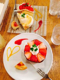 いちごのケーキの写真・画像素材[1148619]