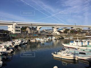 広島市江波の港の写真・画像素材[1404183]