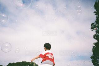 子ども,公園,親子,シャボン玉,肩車,フィルム,スナップ,フィルムカメラ,フィルム写真,フィルムフォト