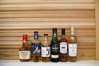 インテリア,屋内,樹木,ワイン,ボトル,ビール,ガラス瓶,ウイスキー,ドリンク,気分転換,ハイボール,テキスト,アルコール飲料,蒸留酒,ソフトド リンク,ワイン ボトル,ハーフボトル