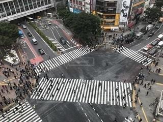 街の通りの眺めの写真・画像素材[1202956]