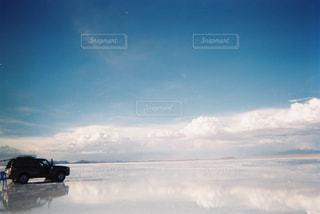 ウユニ塩湖の写真・画像素材[1125291]