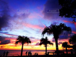 夕焼け,沖縄,サンセット,アラハビーチ,北谷,沖縄の景色,キレイな夕焼け