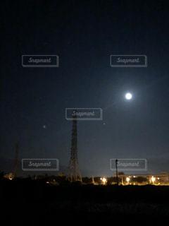 月夜の写真・画像素材[1477870]