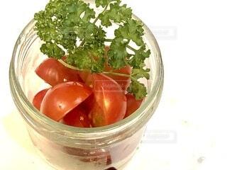 食べ物,緑,赤,瓶,野菜,食品,プチトマト,食材,パセリ,フレッシュ,ベジタブル