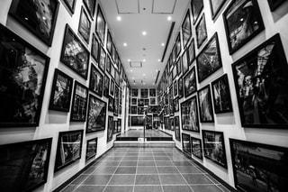 店の黒と白の写真の写真・画像素材[1447837]