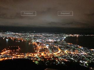 函館の夜景の写真・画像素材[1690652]
