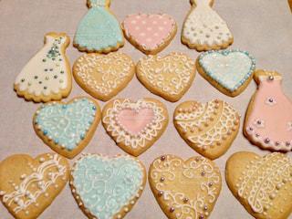 プレゼント,ハート,お菓子,手づくり,アイシングクッキー