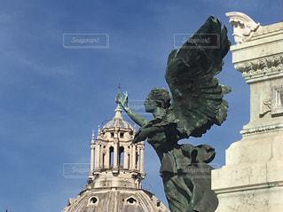 イタリア ヴェネツィア広場での写真・画像素材[2067996]