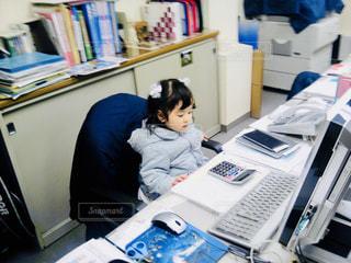 最年少の会社員??の写真・画像素材[1167708]