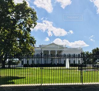 ホワイトハウスの写真・画像素材[1196344]