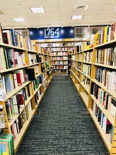 コロンビア大学の本屋さんの写真・画像素材[1198377]
