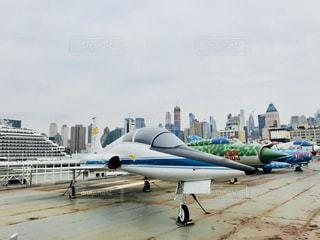 イントレピットの戦闘機の写真・画像素材[1217655]