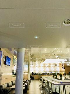 ヘルシンキ空港のラウンジの写真・画像素材[1219228]
