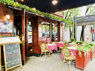 マンハッタンの可愛いレストランの写真・画像素材[1249455]