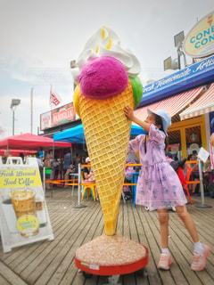 アイス、食べたい!の写真・画像素材[1288677]