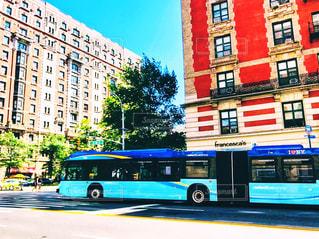 I♡NY バスの写真・画像素材[1316602]