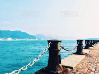 下関から見た関門海峡の写真・画像素材[1317633]