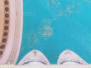 グランドセントラル駅構内の天井の写真・画像素材[1349085]