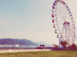 海辺の観覧車 1の写真・画像素材[1433779]