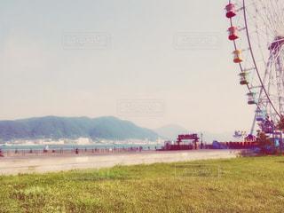 海辺の観覧車 2の写真・画像素材[1433787]