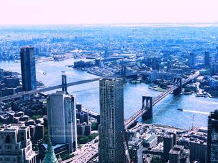 1ワールドトレードセンター展望台から見た眺めの写真・画像素材[1467913]